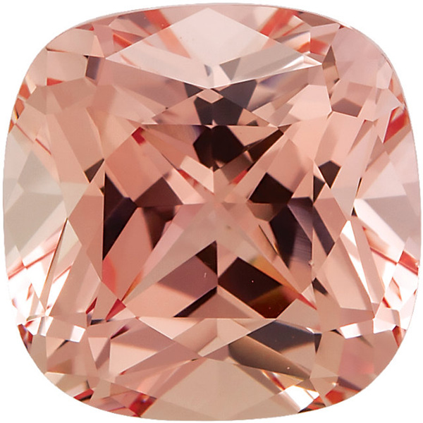 Grade GEM CHATHAM CHAMPAGNE SAPPHIRE Antique Square Cut Gems - Calibrated