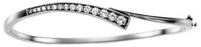 14KT White Gold 3/4 CTW Diamond Journey 6.5