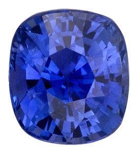 Mesmerizing Rich Heated Blue Sapphire - Excellent Cut & Clarity - Great Shape, Cushion Cut, 3.07  carats - SOLD
