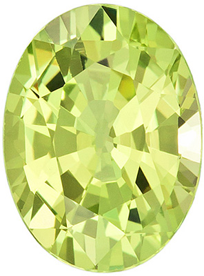 Exquisite Yellowish Chrysoberyl Gemstone With a Great Life - Perfect for Jewelry, Oval Cut, 2.82 carats