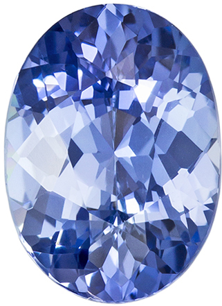 Unique No Treatment Blue Sapphire Gemstone in Oval Cut, Steely Blue, 9.0 x 6.6mm, 1.88 carats - GIA Certified