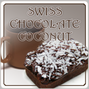 Decaf Swiss Chocolate Coconut Flavored Coffee (1/2lb bag)