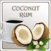 Decaf Coconut Rum Flavored Coffee (1/2lb bag)