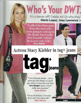 Stacy Kiebler in Tag Skinny Jeans