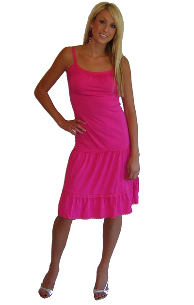 "Sweetees Pink ""Evita""  Dress"