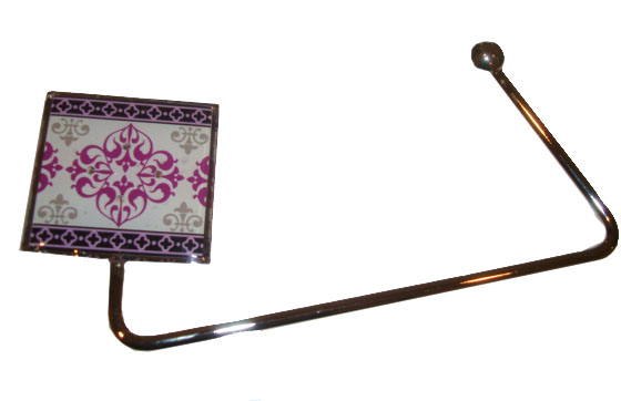Glam Crystal Moroccan Purse Hanger
