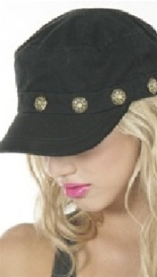 Brokedown Vintage Button Cadet Hat (3 Colors Available)