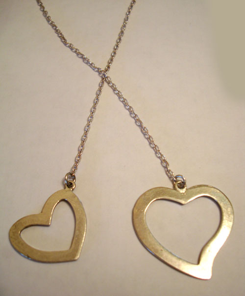 Roc Kandy Double Heart Necklace