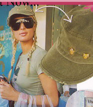 Paris Hilton in Brokedown Hat