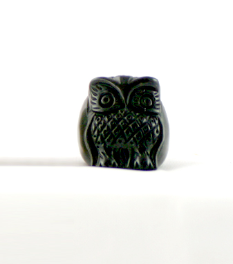 Kris Nations Owl Ring (Black)