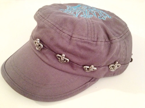 Brokedown Charcoal Gray Crown Cadet Hat