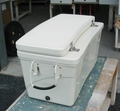"Frigid-Rigid Ice Chest W/3"" Set Back Lid 18""X18""X33"""