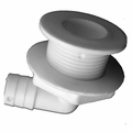 T & H Marine Nylon All Purpose Drains -White