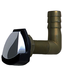 Gas Tank Vent with Swivel Elbow