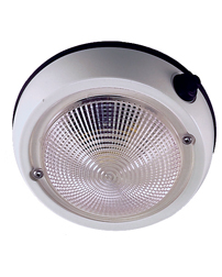Perko Exterior Surface Mount Dome Light 4""