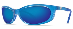 Costa 400G Fathom Sunglasses: Blue / Blue Mirror Mfg#FA-22-BMGLP