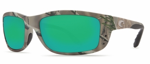 Costa 400G Zane Sunglasses: Camo / Green Mirror Mfg#ZN-23-GMGLP