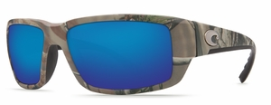 Costa 580G Fantail Sunglasses: Camo / Blue Mirror Mfg#TF-23-OBMGLP