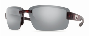 Costa 580P Galveston Sunglasses: Tortoise / Silver Mirror Mfg#GV-10-OSCP