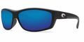 Costa Saltbreak Sunglasses: Black / Blue Mirror -MFG#BK-01-BMGLP