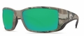 Costa 400G Blackfin Sunglasses: Camo / Green Mirror Mfg#BL-23-OBMGLP