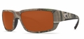 Costa 580P Fantail Sunglasses: Camo / Copper Mfg#TF-23-OCP