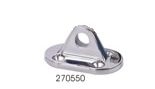 Sea-Dog Life-Line Base Fitting 316 S.S (270550-1)