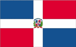 "12"" X 18"" Dominican Republic Flag"