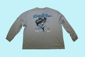 Fishing Team Qualifier SPF Long Sleeve -Grey