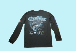 Fishing Team Qualifier SPF Long Sleeve -Black