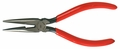 "6"" Needle Nose Pliers with Red Cushion Grip Handles, Carded"