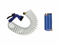 Whitecap 50' Foot Coiled Washdown Hose W/ Nozzle