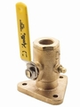 "Apollo Full Flow Seacock Flange Valves 3/4""-2-1/2"""