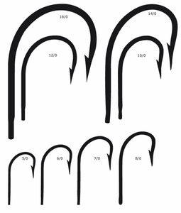 Mustad Sea Demon Forged Hooks (7731D)