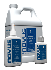 Novus Plastic Clean and Shine (#1) 8oz. Mfg# 7020