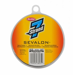 Berkley 7 Strand Sevalon Nylon Coated wire