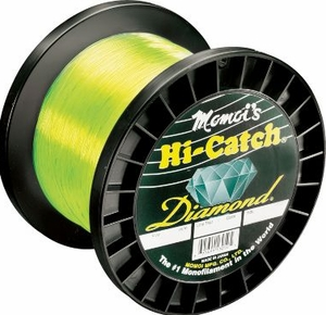 Momoi Hi-Catch Diamond Mono 1,000Yd. Spools -Hi-Vis