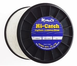 Momoi Hi-Catch Nylon Mono 1LB Spools -Clear