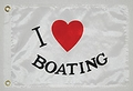 I love Boating Flag