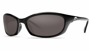 Costa Del Mar Harpoon Sunglasses: Black / Dk Gray - MFG#HR-11-DGP