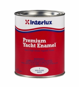 Interlux High Intensity #1 Gloss Top Coat - MFG#1Q - White