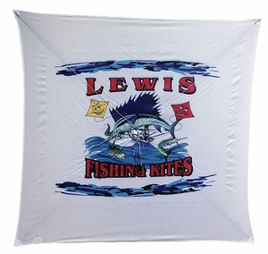 Lewis Extra Light Wind Fishing Kite -Mfg# 100XL
