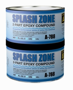 Pettit Splash Zone Epoxy Compound 1/2 Gallon Kit (MFG#A-788Q)