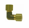 ACR Yellow Brass Compression 90 Degree Elbow Fittings