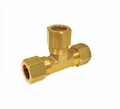 ACR Yellow Brass Compression Tee Fittings