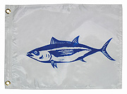 "12"" x 18"" Tuna Capture Flag"