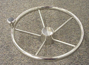 "13-1/2"" Five Spoke Destroyer Wheel"