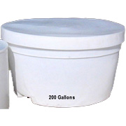 200 Gallon Chem-Tainer Bait Tank Lid ONLY