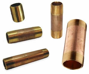 ACR Bronze Pipe Nipples 1""