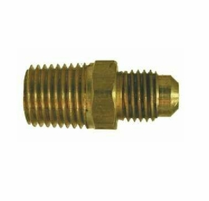 ACR Yellow Brass 45 Degree Male Adapter